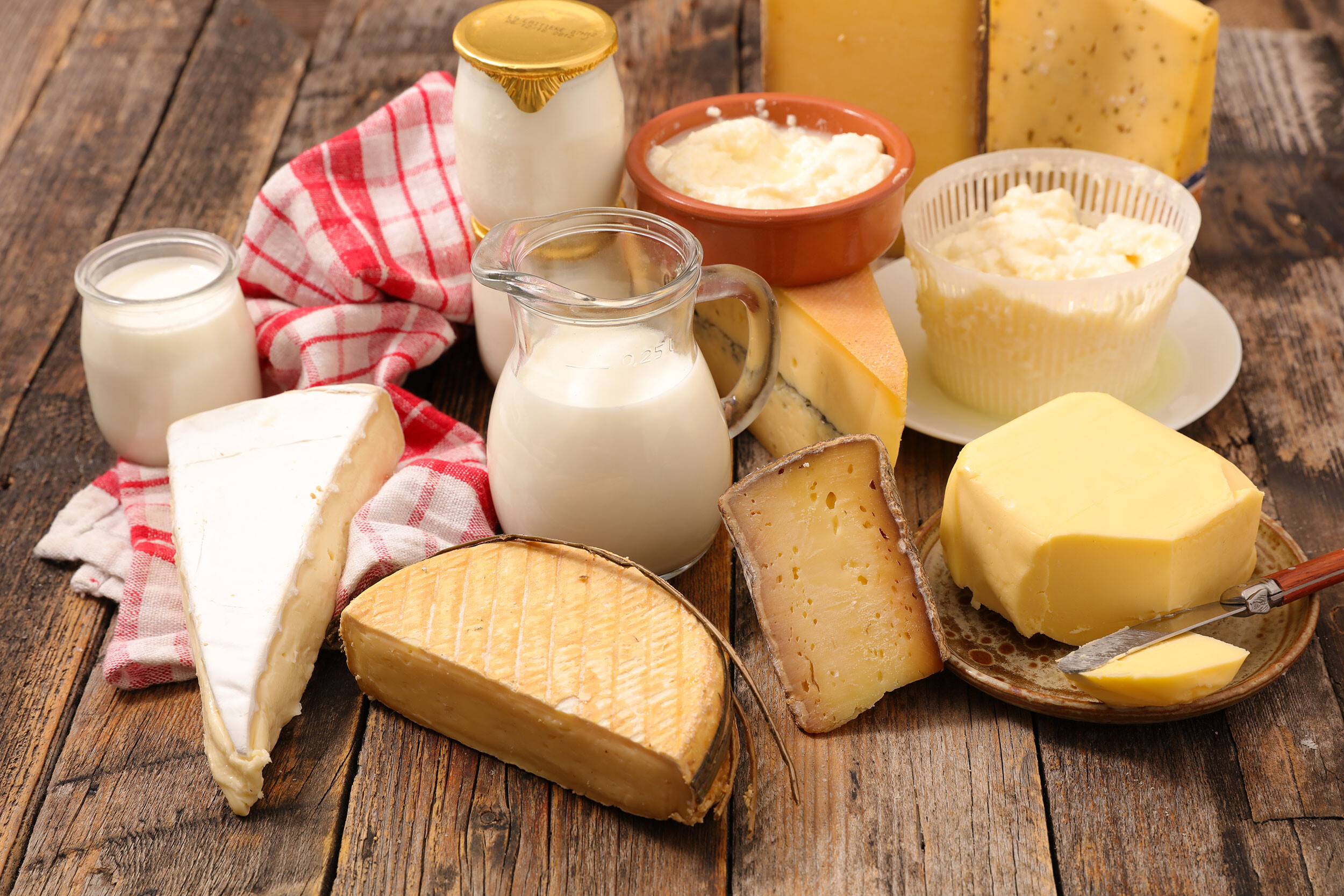 <i>Adobe Stock</i><br/>People with a higher consumption of dairy fat have a lower risk of cardiovascular disease than those with low intakes
