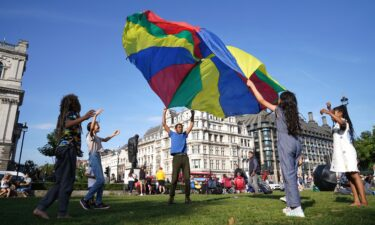 Children to gather at Parliament Square in London in early September to read their Letters to the Earth