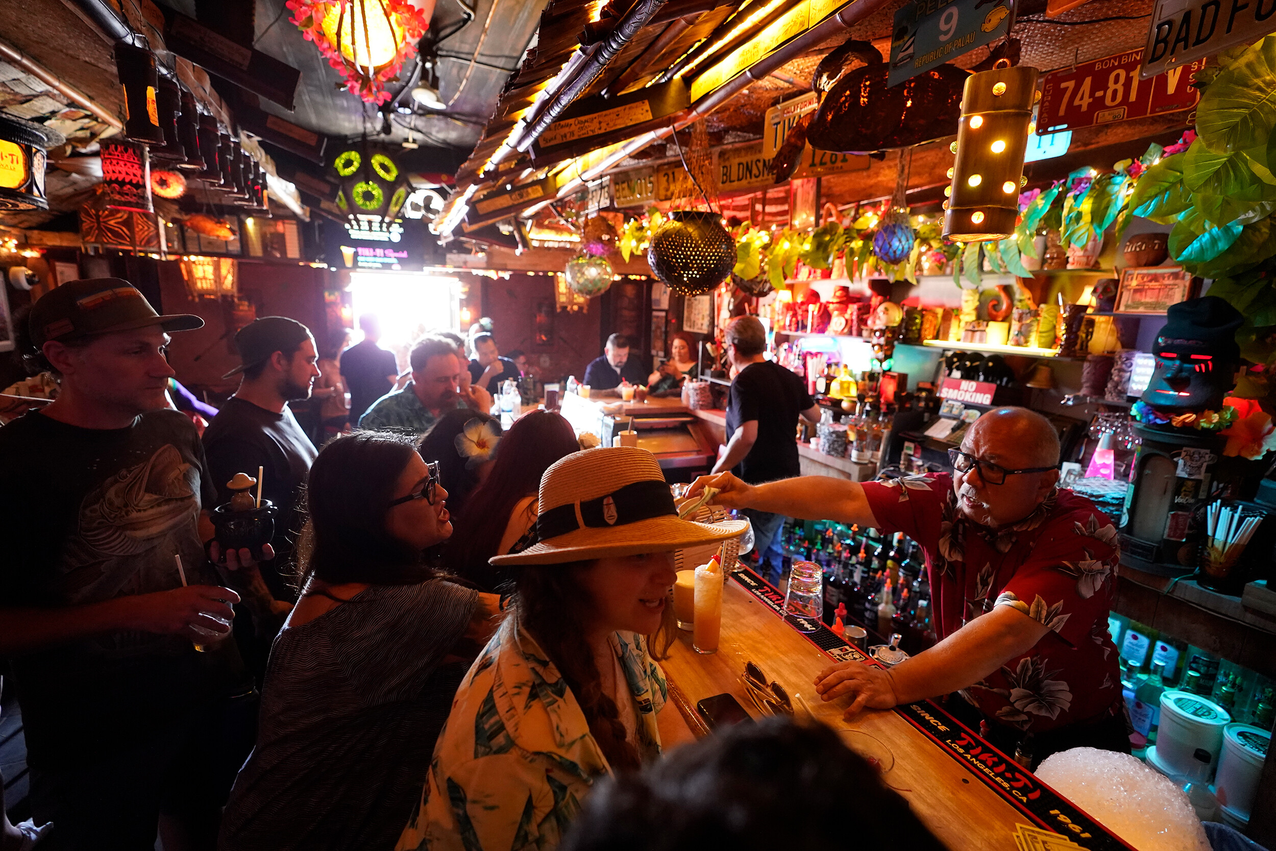 <i>Damian Dovarganes/AP/FILE</i><br/>Los Angeles County will require customers and employees in indoor bars