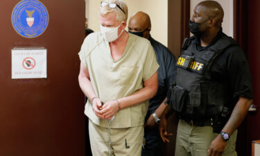 Alex Murdaugh walks into his bond hearing on September 16.