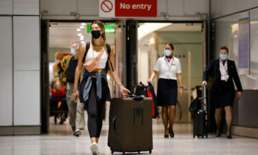 The UK's travel rules will change on October 4.