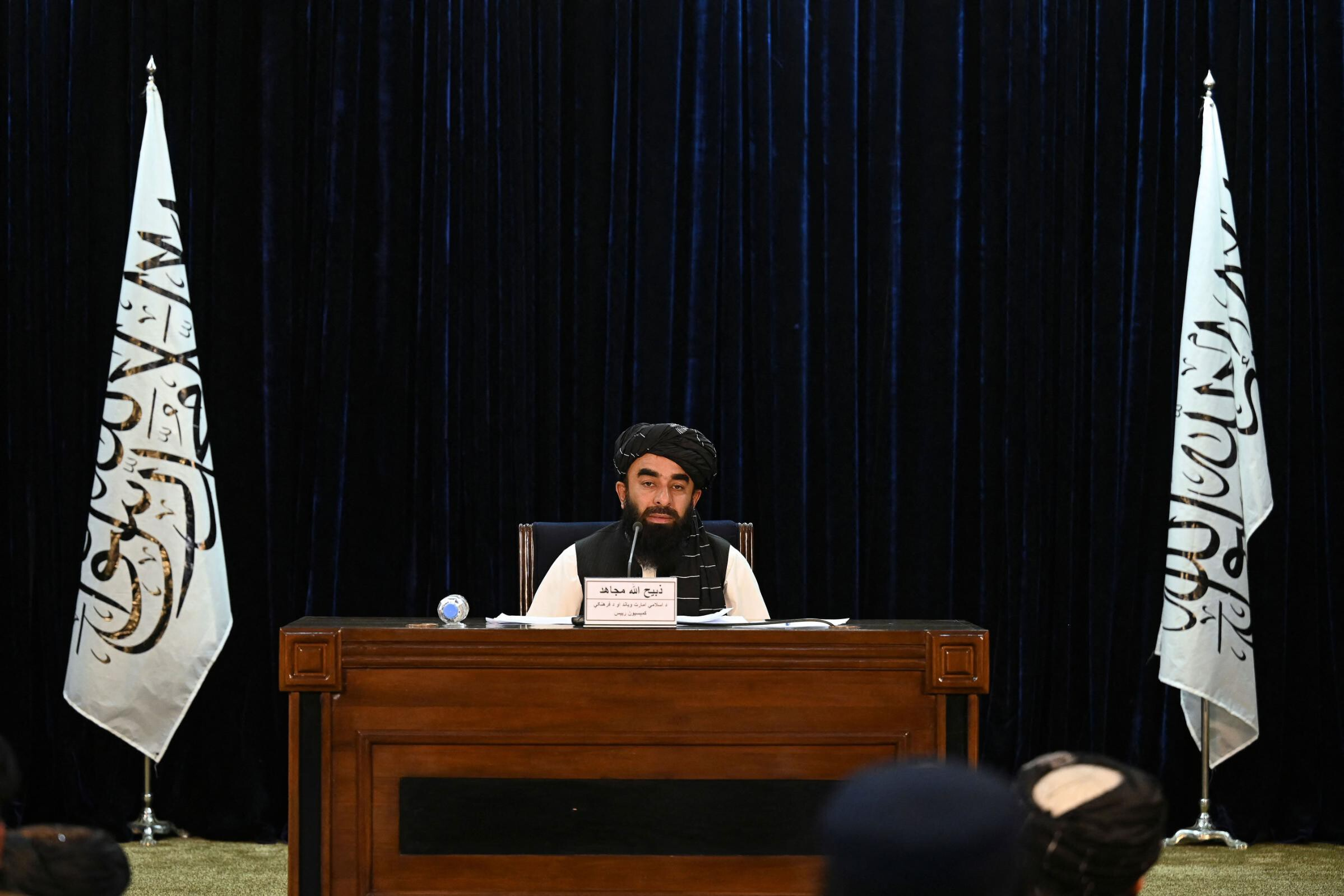 <i>Aamir Qureshi/AFP/Getty Images</i><br/>The Taliban have denied claims that Afghan women would be banned from secondary schools after calling on boys