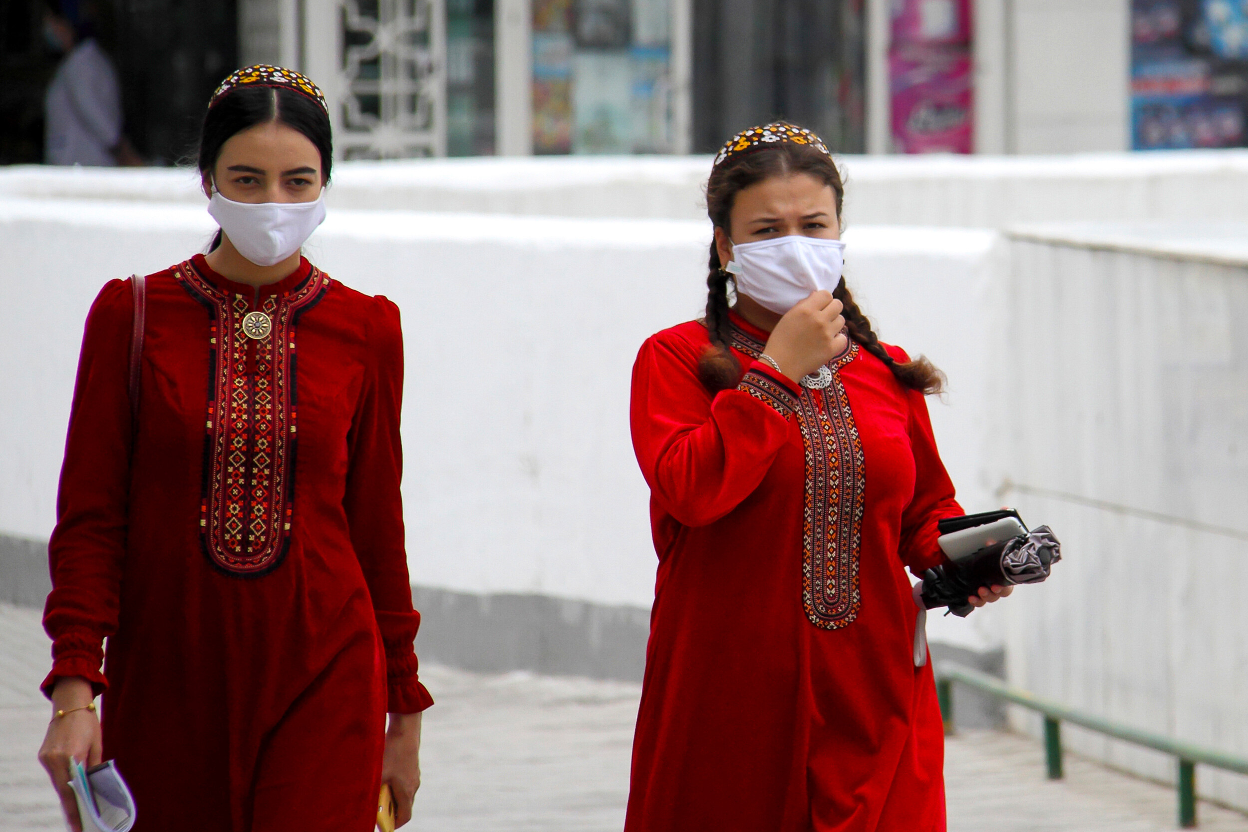 <i>STR/AFP/Getty Images</i><br/>In the nearly two years since the pandemic began