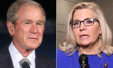 Former President George W. Bush will hold a fundraising event for Wyoming GOP Rep. Liz Cheney