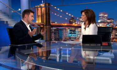 Airbnb CEO Brian Chesky speaks with CNN's Erin Burnett