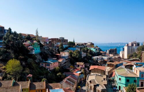 Arty Valparaiso was the home of Chilean poet Pablo Neruda.