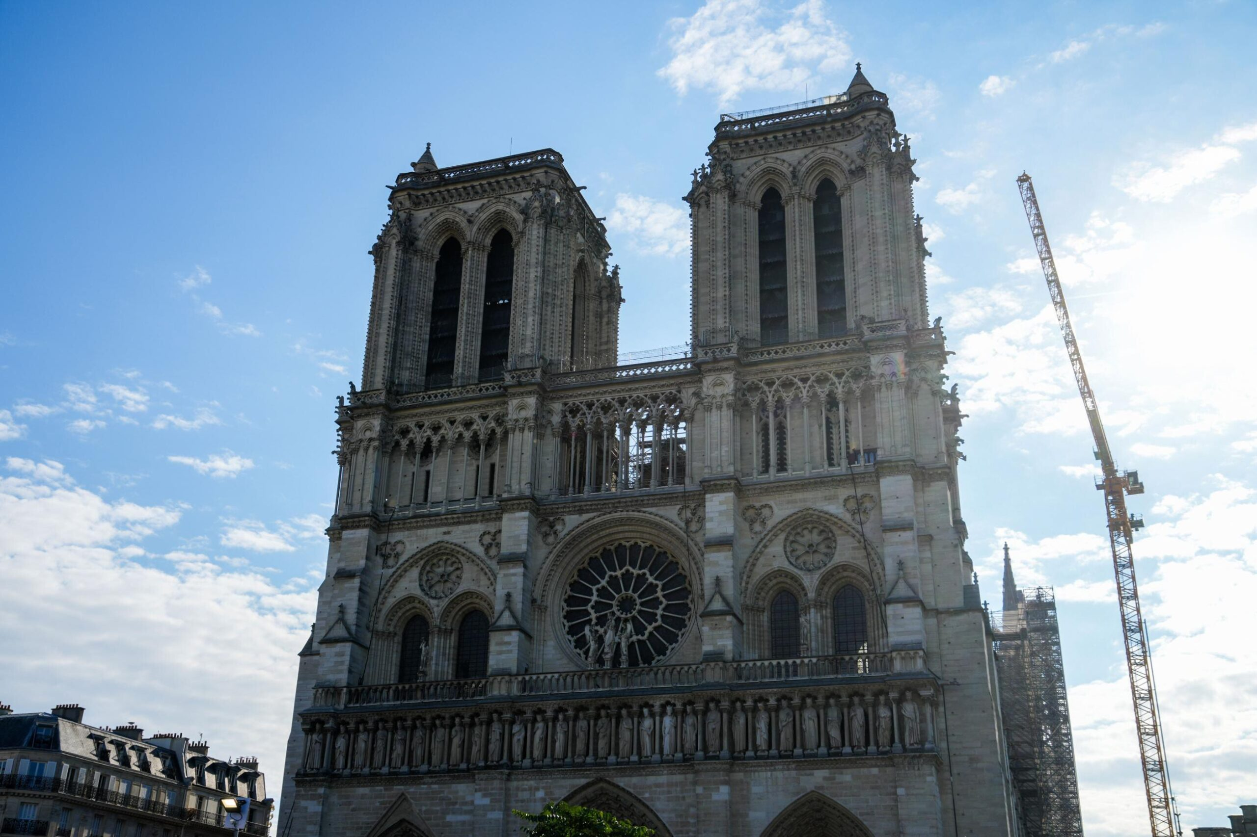 <i>Edward Berthelot/Getty Images</i><br/>The Notre Dame cathedral is on track to reopen to the public in 2024 as the cathedral has now been entirely secured