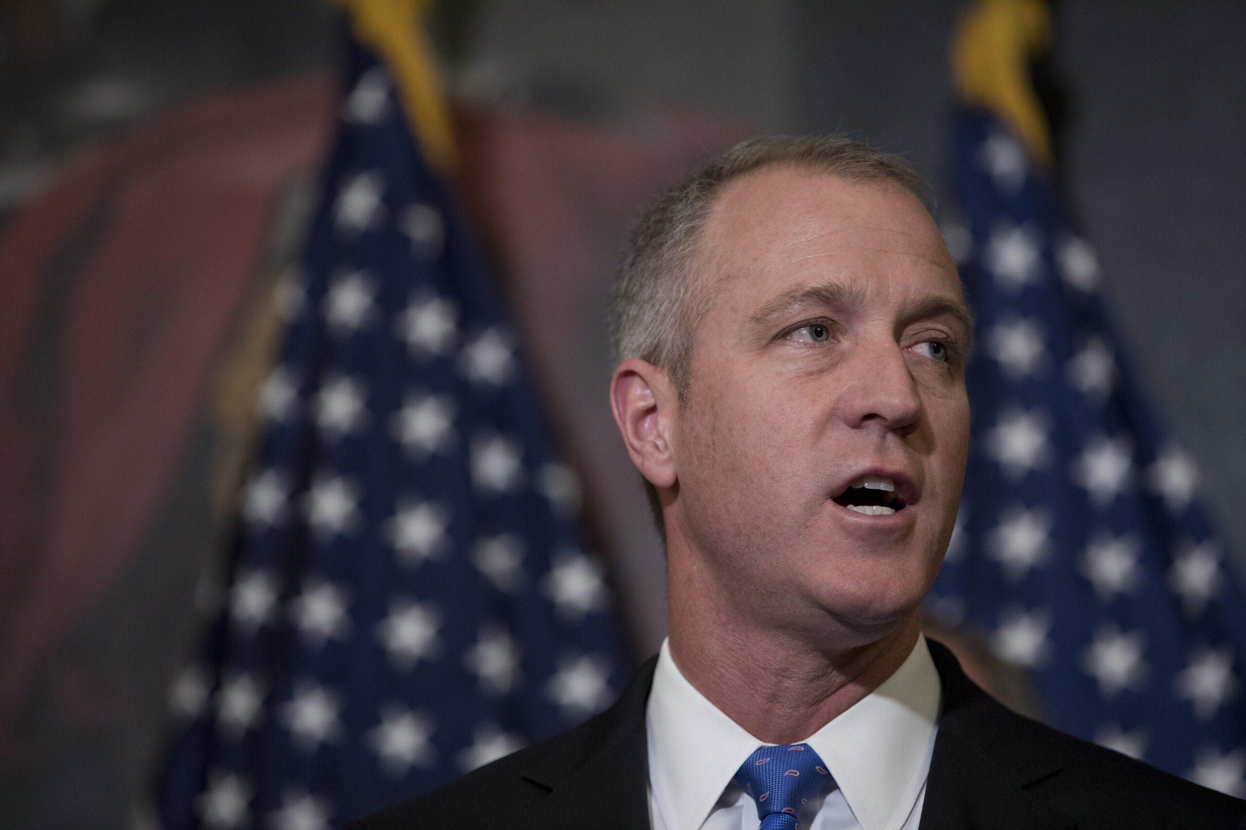 <i>Aaron P. Bernstein/Getty Images</i><br/>The House Democrats' campaign arm is putting the spotlight on GOP Covid-19 misinformation. DCCC Chairman Sean Patrick Maloney of New York echoed a similar sentiment in a statement to CNN.
