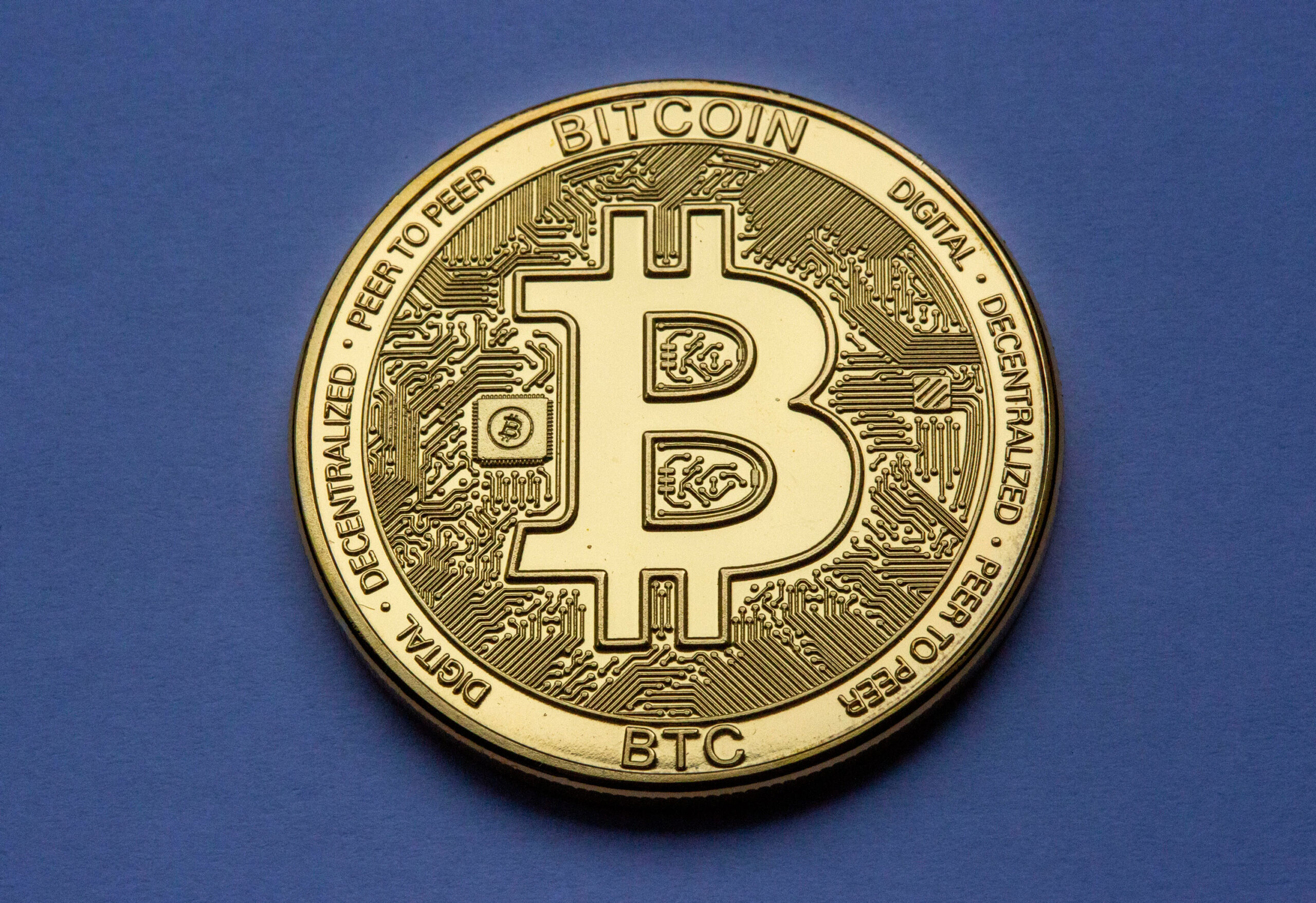 <i>Ulrich Baumgarten/Getty Images</i><br/>Bitcoin is falling as fears of the Evergrande crisis sweep through global markets. The digital currency has dropped 5.7% in the last 24 hours