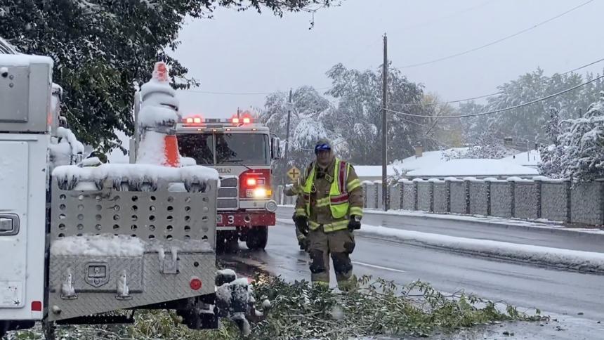 Snow causes damage across eastern Idaho Oct 12_2