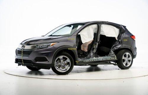 """The Honda HR-V earned a """"poor"""" rating in crash test."""