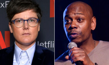 Hannah Gadsby fans are not happy with Dave Chappelle for saying she's not funny.