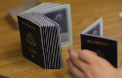 """The US State Department has issued the first US passport with an """"X"""" gender marker as it seeks to implement gender-inclusive polices"""