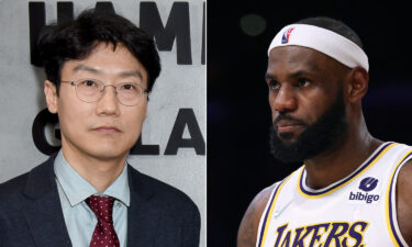 The 'Squid Game' creator Hwang Dong-hyuk (left) responds to LeBron James (right) disliking the show's end.