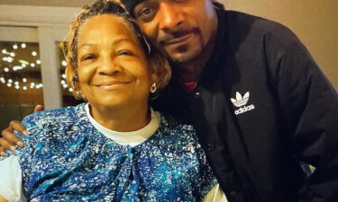 Snoop Dogg shared a photo of himself and his mom to Instagram with the caption