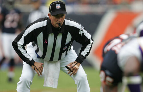 NFL veteran official Carl Madsen died on his way home from a game Sunday