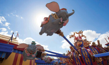 Guests take a spin on Dumbo