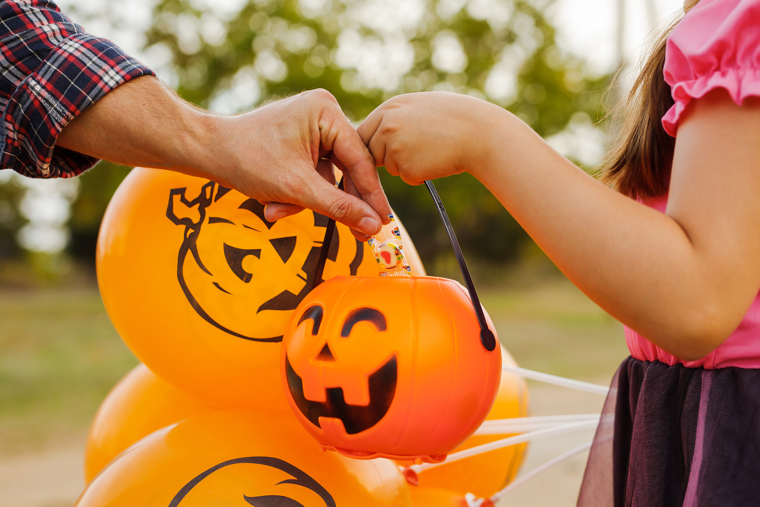 <i>Adobe Stock</i><br/>Trick-or-treating is safe for children if they follow certain health guidelines.