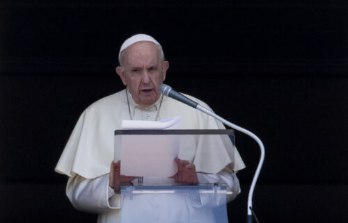 """Pope Francis has likened migrant detention centers in Libya to """"concentration camps"""" and called on the international community to intervene in a worsening migrant situation in the central Mediterranean region."""