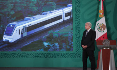 Mexican President Andres Manuel Lopez Obrador insisted construction of the Mayan Train project