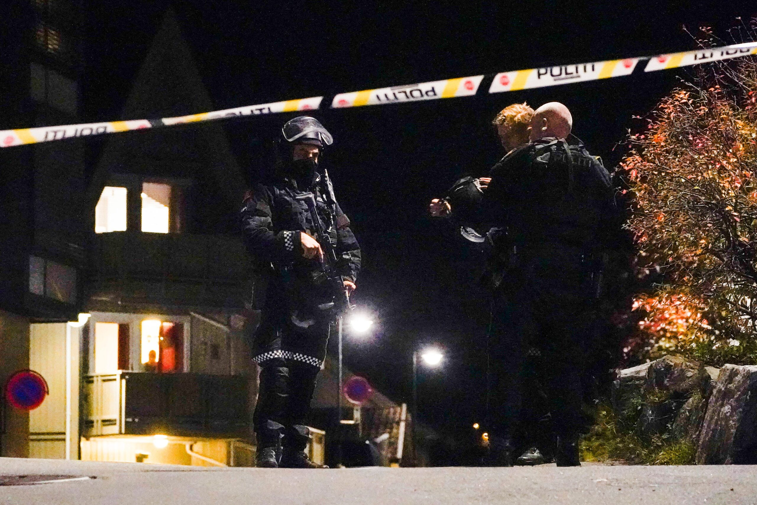 <i>Hakon Mosvold Larsen/NTB/AFP/Getty Images</i><br/>The suspect in the Norway bow-and-arrow attack had converted to Islam and police were in contact with him before the killings on Wednesday over concerns about radicalization